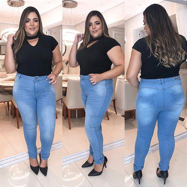 Calça Jeans Plus Size Suellen