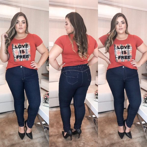 Calça Jeans Plus Size Melissa