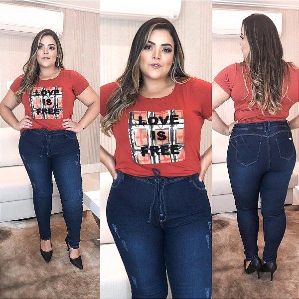 Calça Jeans Plus Size Emily