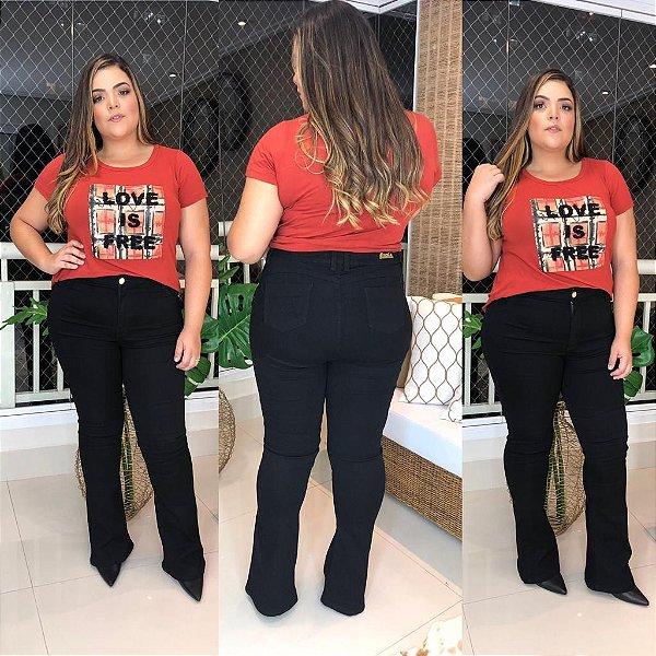 Calça Jeans Flare  Mayara