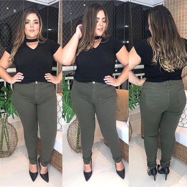 Calça Jeans Color Nina