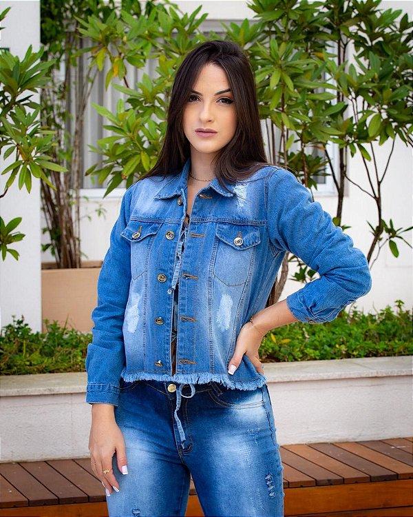 Jaqueta Jeans karina