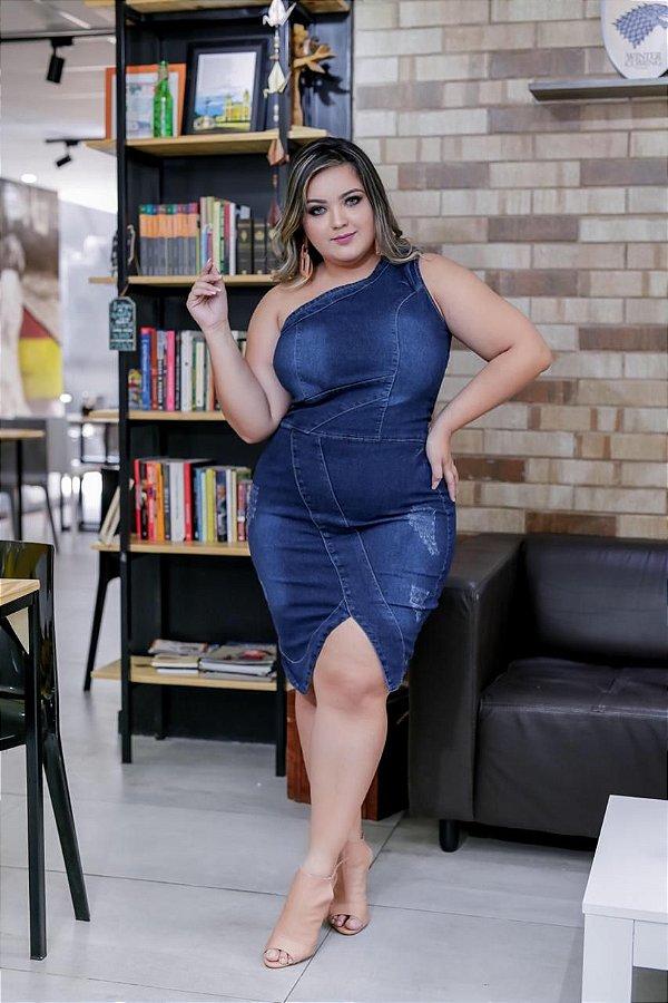 Vestido Plus Size Cinthia