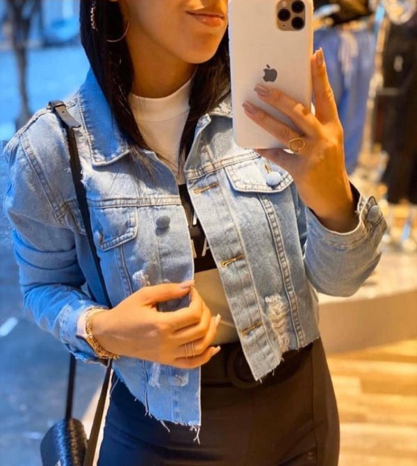 Jaqueta Jeans Emilly
