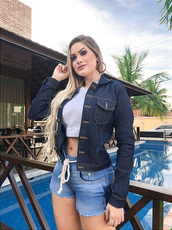 Jaqueta Jeans Rossana
