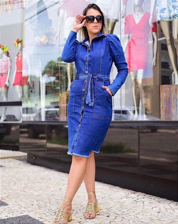 Vestido Jeans Isadora