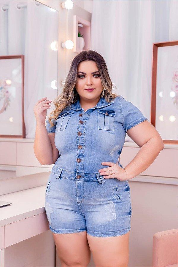 Macacão Jeans Naomi