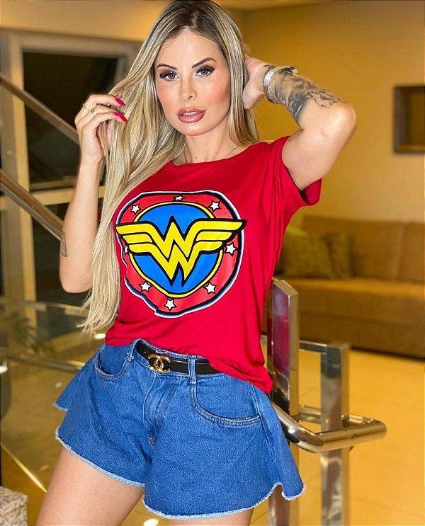 T- Shirt Mulher Maravilha