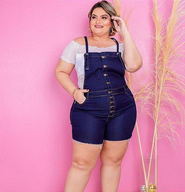Macacão Jeans Lorena