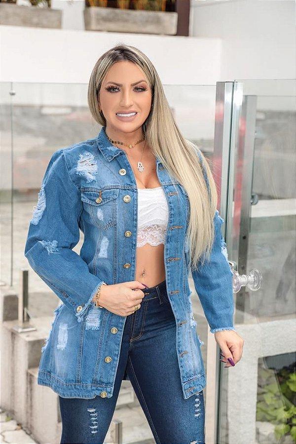 Max Jaqueta Jeans Brenda
