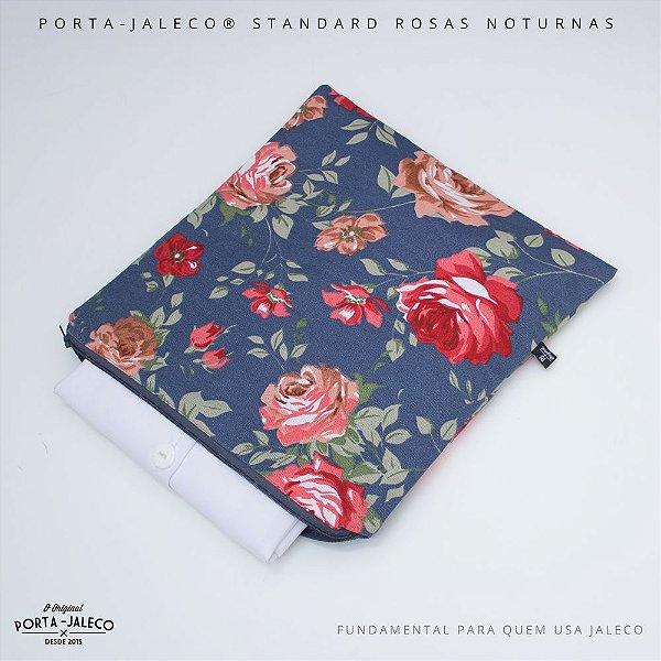 Porta-Jaleco® Standard Rosas Noturnas