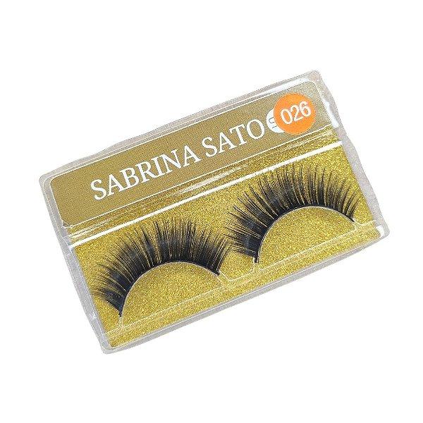 Cílios postiços Sabrina Sato