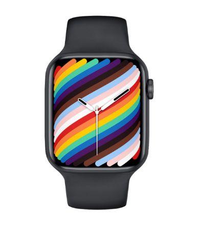 Relógio Smartwatch IWO W37 PRO Serie 7 - Preto - Tela Infinita - IOS / Android - 44mm