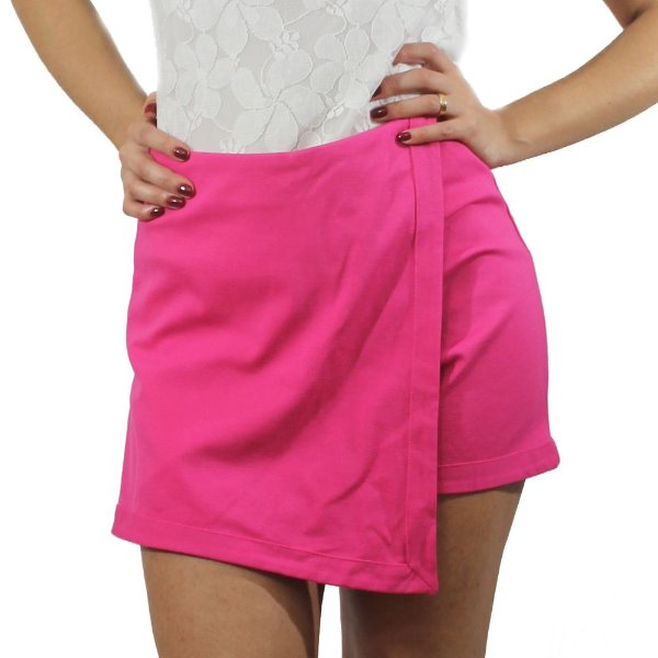 Shorts Saia Assimétrico - TALGUI