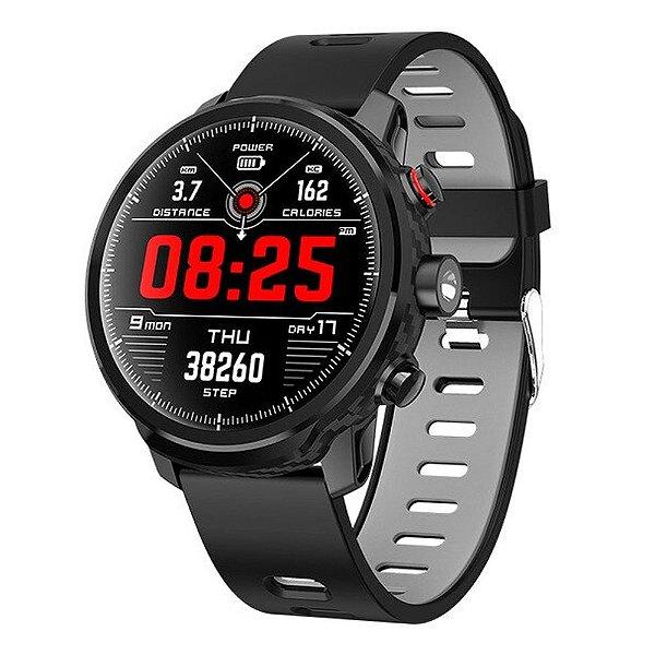 Relógio Eletrônico Smartwatch Magnus Stratos L5 - IOS e Android