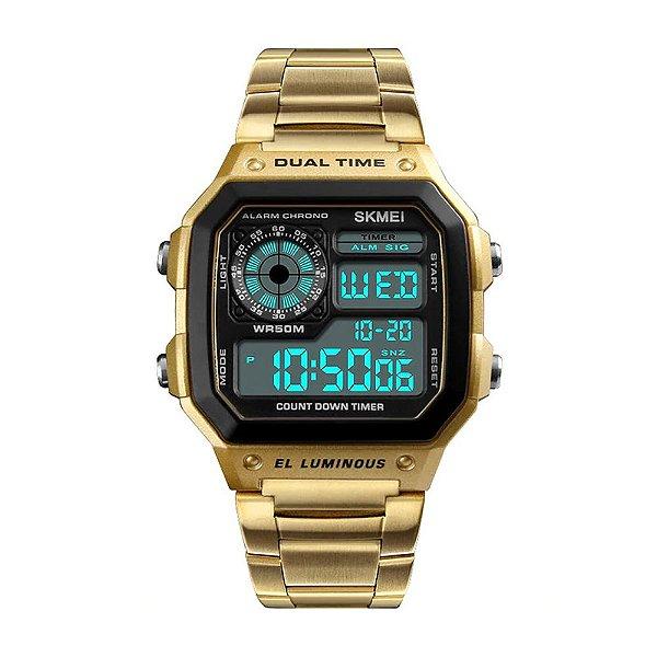 Relógio SKMEI Vintage Digital