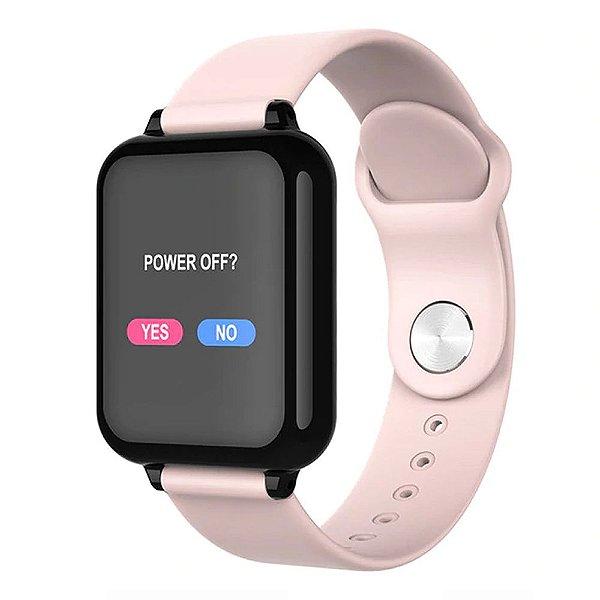 Relógio Smartwatch Hero Band - Rosa - Android e iOS