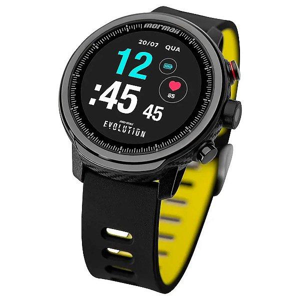 Relógio Smartwatch Mormaii Evolution Masculino Bicolor - MOL5AB/8Y