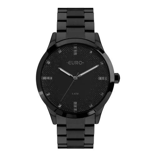 Relógio Euro Glitter Fever Feminino - Preto - EU2036YOL/4P
