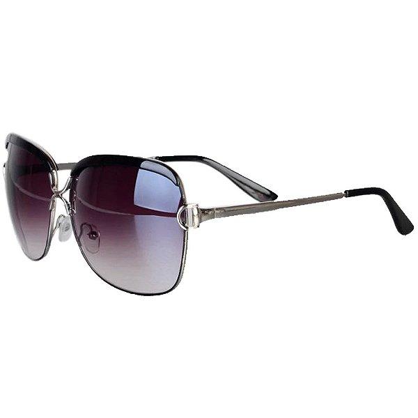 Óculos Feminino Royal Luxo - Preto - Retangular