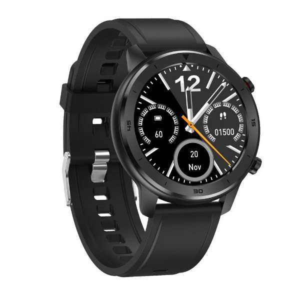 Relógio Eletrônico Smartwatch DT78 - Preto - IOS e Android