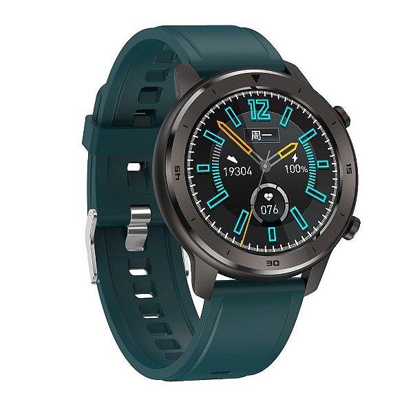 Relógio Eletrônico Smartwatch DT78 - Verde - IOS e Android