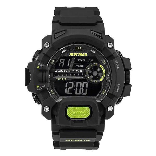 Relógio Digital Mormaii Lumi - Preto - MO1132AG/8V