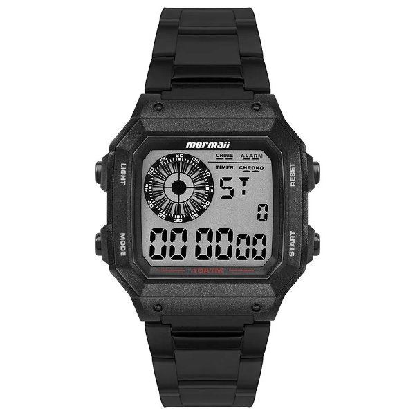 Relógio Digital Mormaii Vibe - Preto - MO2003JC/8P