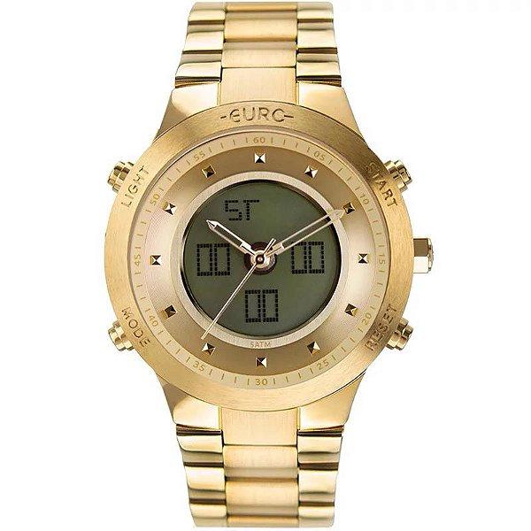 Relógio Euro Feminino Sporty Lux - Dourado - EUBJ3889AA/4D
