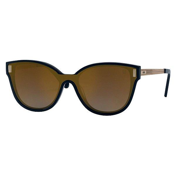 Óculos Euro Unique Front - Dourado - E0041K1910/4D