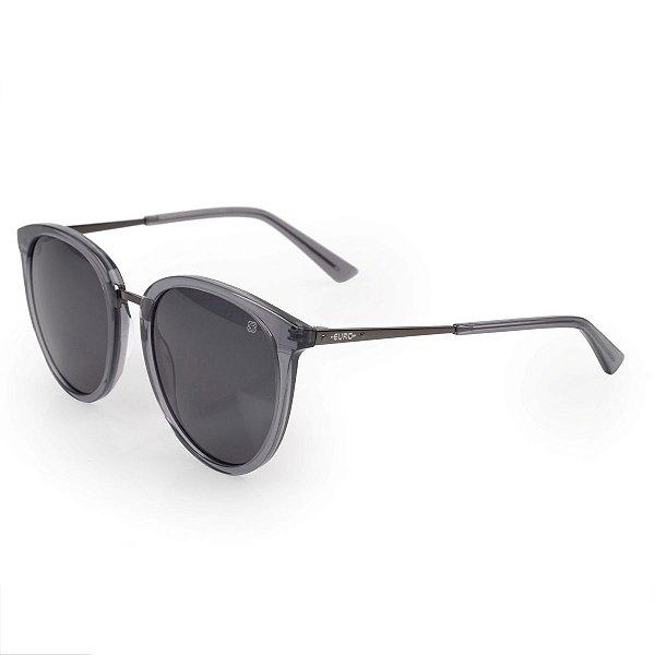 Óculos Euro Feminino Redondos - Fumê - E0014DC401/8F