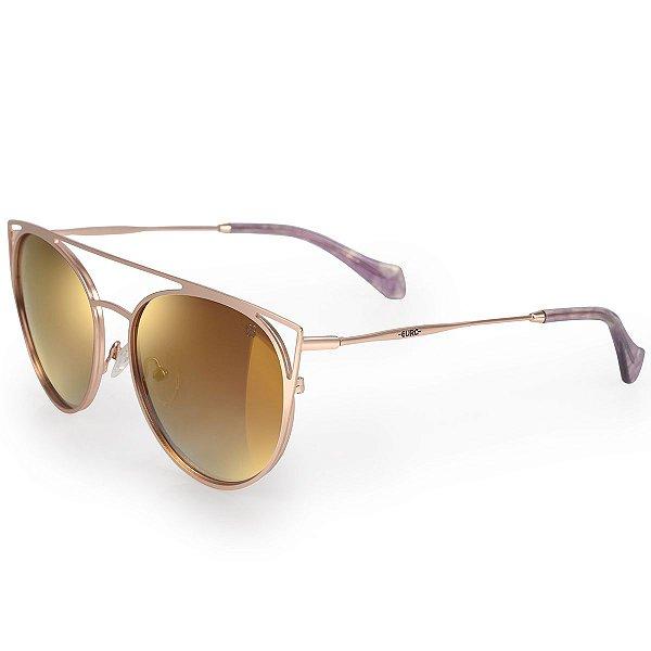Óculos Euro Feminino Recortes Metalizados - Dourado - E0015E1131/4J
