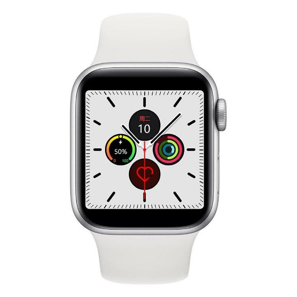 Relógio Smartwatch IWO 12 Pro Série 5 - Branco - 40mm