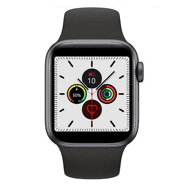Relógio Smartwatch IWO 12 Pro Série 5 - Preto - 40mm