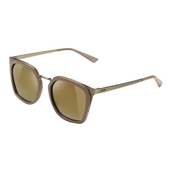 Óculos Euro Feminino Power Lux - Marrom - E0028B3641/8M