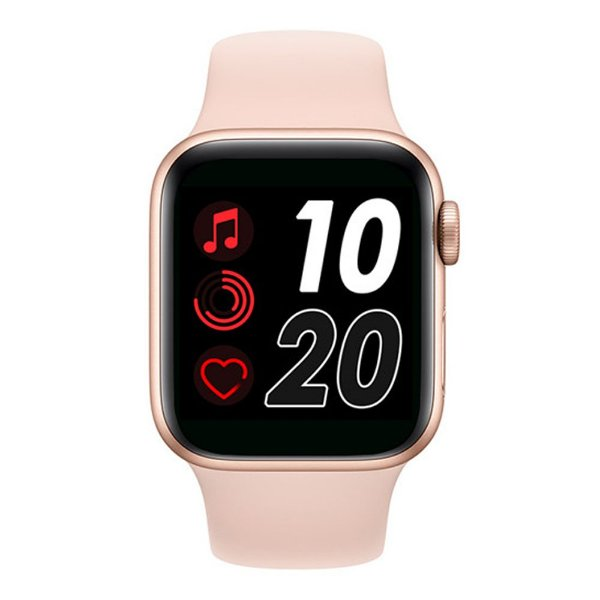 Relógio Smartwatch T500 - Rosa - iOS / Android - 44mm