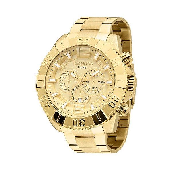 Relógio Technos Masculino Legacy - Dourado - OS20IB/4X