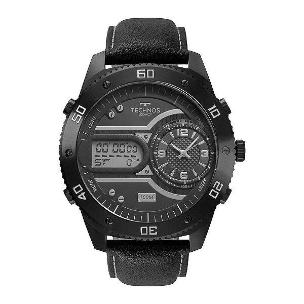Relógio Masculino Technos Legacy - Preto - 2039CD/2C