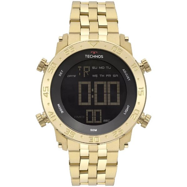 Relógio Technos Perfomance - Dourado - BJK006AC/4P