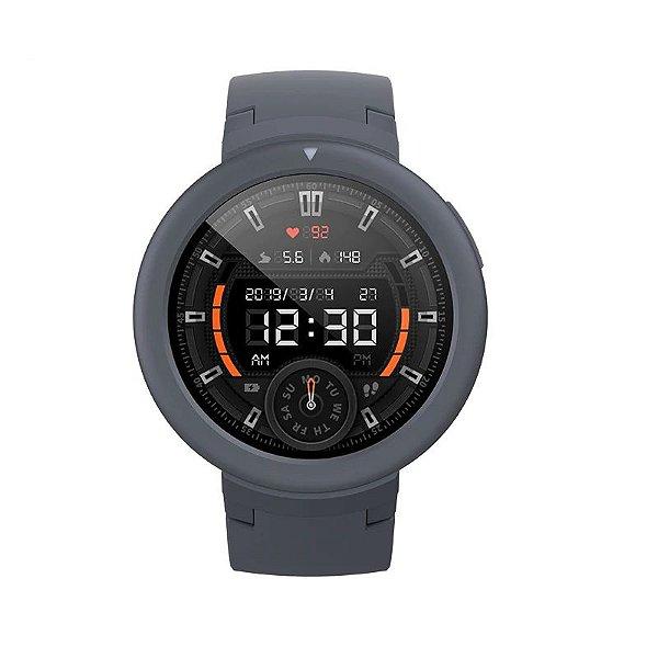Relógio Smartwatch AmazFit Verge Lite - GPS Integrado - Chumbo - IOS e Android