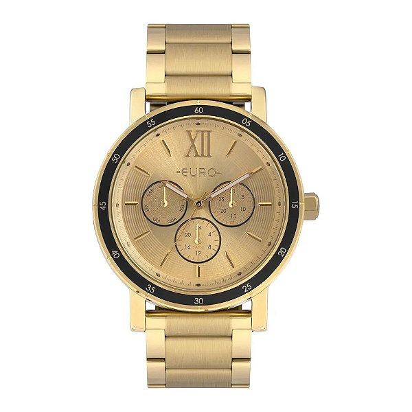 Relógio Euro Feminino Multiglow - Dourado - EU6P29AHI/4D