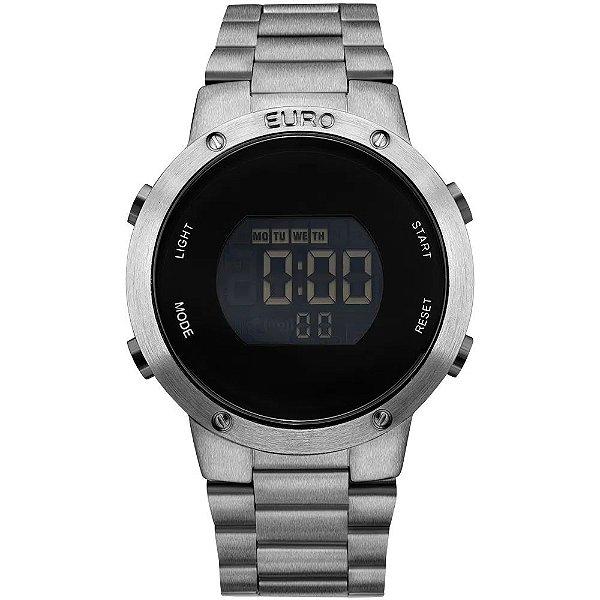Relógio Feminino Fashion Fit - Prata - EUBJ3279AE/4K