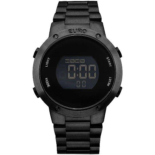 Relógio Euro Feminino Fashion Fit - Preto - EUBJ3279AB/4P