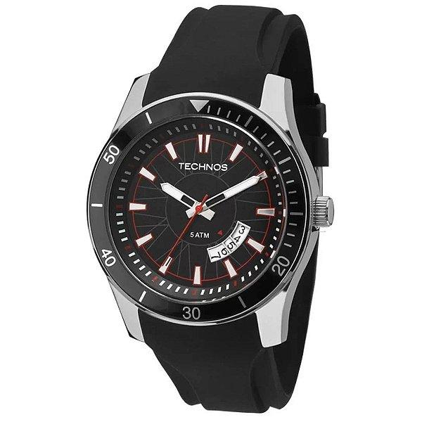 Relógio Analógico Technos Masculino - Preto - 2115KSN/8P