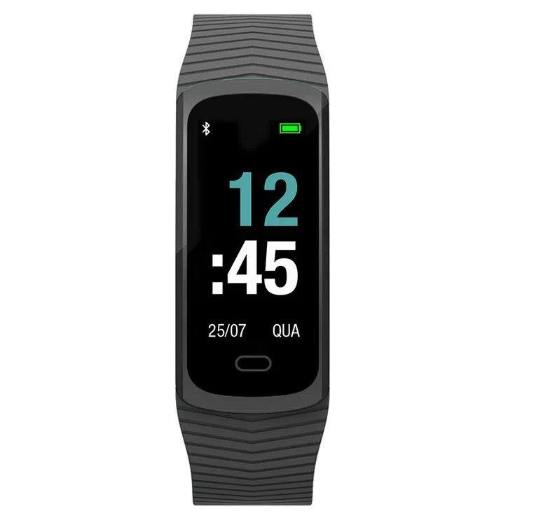 Relógio Mormaii Smart Fit GPS Pulseira Esportiva Preto Unissex - MOB3AA/8P