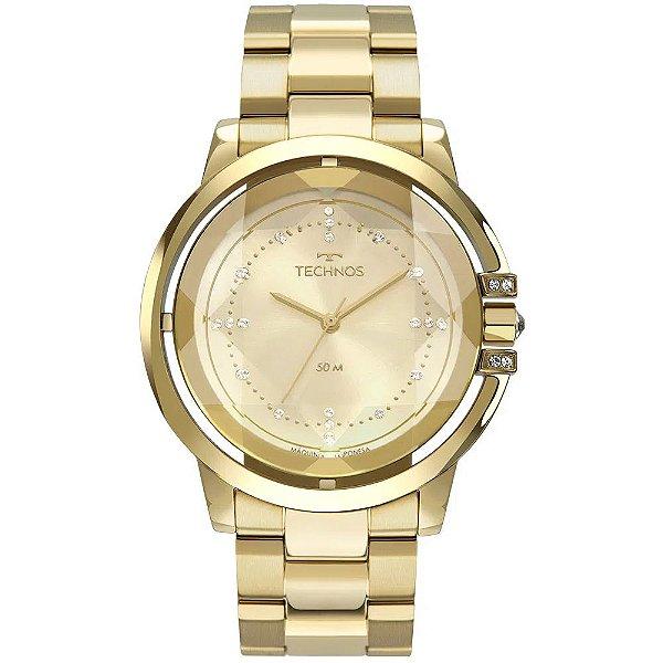 Relógio Technos Feminino Crystal - Dourado - 2036MLL/4X