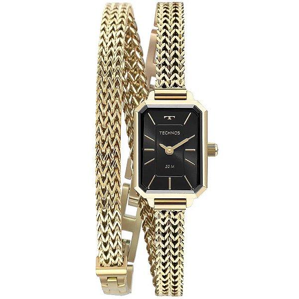 Relógio Technos Mini Feminino - Dourado - 5Y20IX/1P