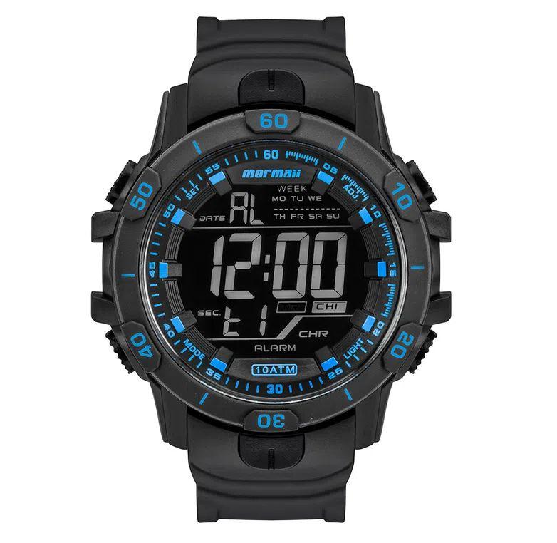 Relógio Digital Mormaii Action - Preto - MO3690AB/8A