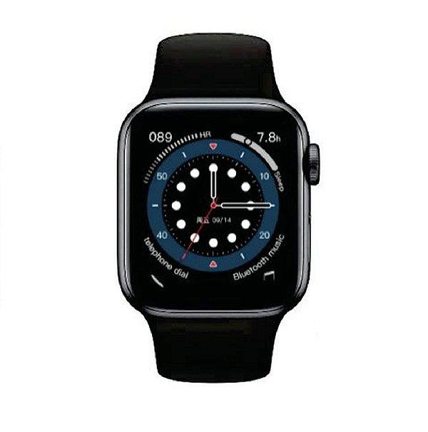 Relógio Smartwatch IWO 13 Tela Infinita - Preto - 44mm