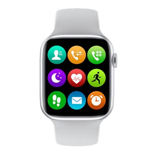 Relógio Smartwatch IWO W26 - Branco - Tela Infinita - IOS / Android - 40mm